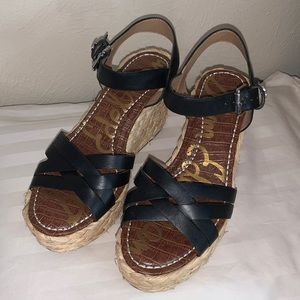 Sam Edelman Darline Platform Wedge Sandal Size 7.5